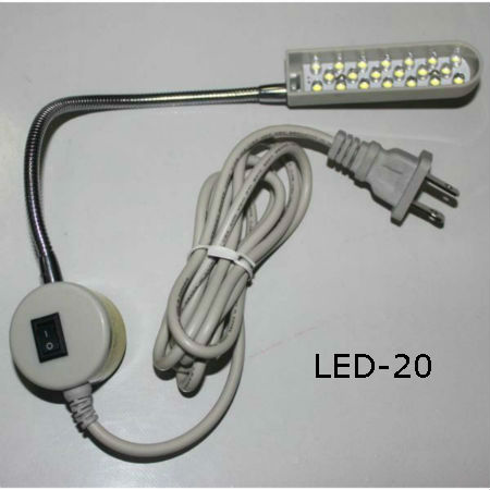 lights for sewing machine